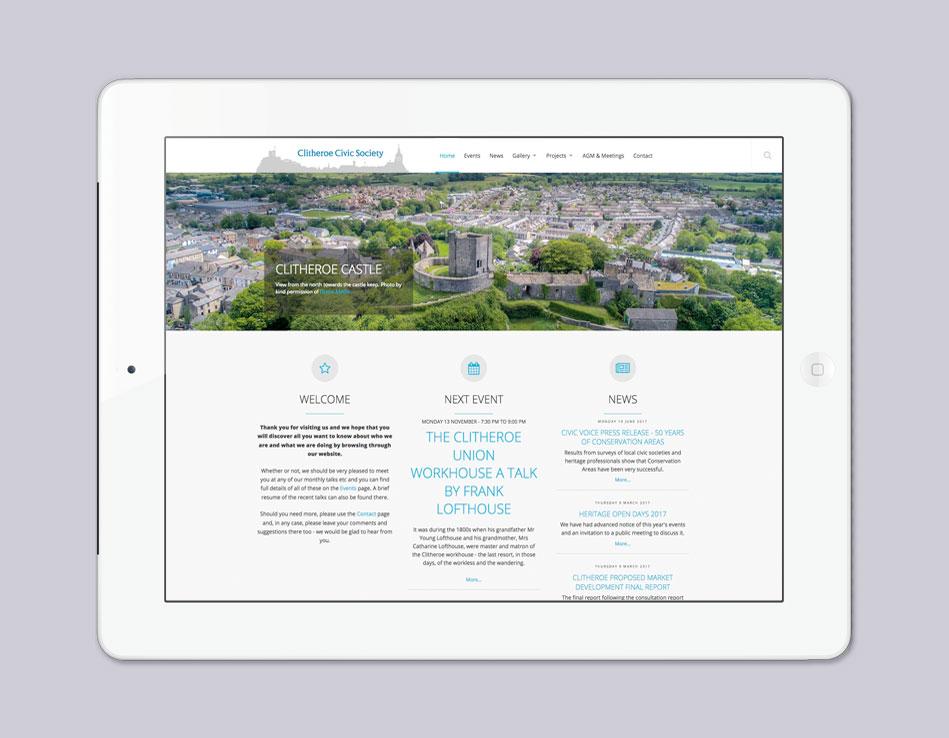 Clitheroe Civic Society website