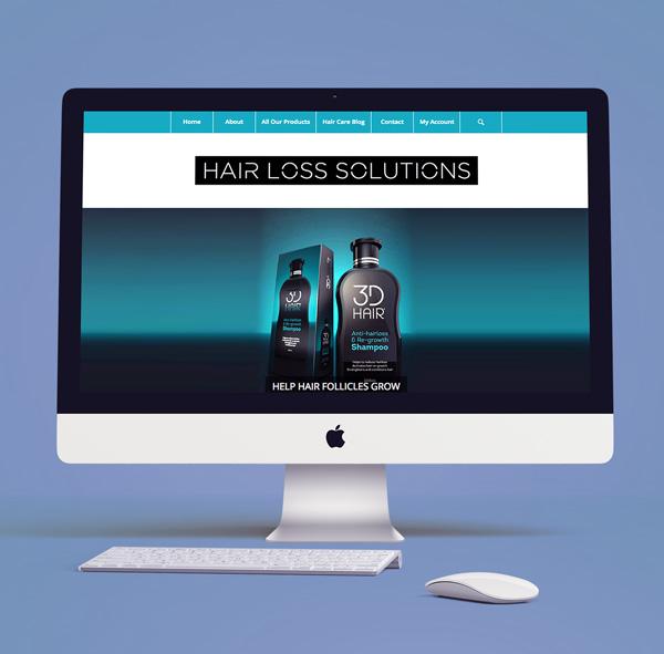 Hair Loss Solutions website